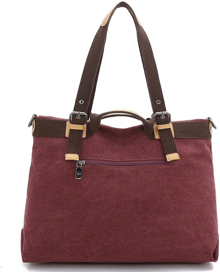 KAXIDY Canvas Messenger Bags Hobos Shoulder Bag Totes Cross-Body Bag Satchels