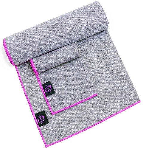 Zinialy Hot Yoga Towels Set