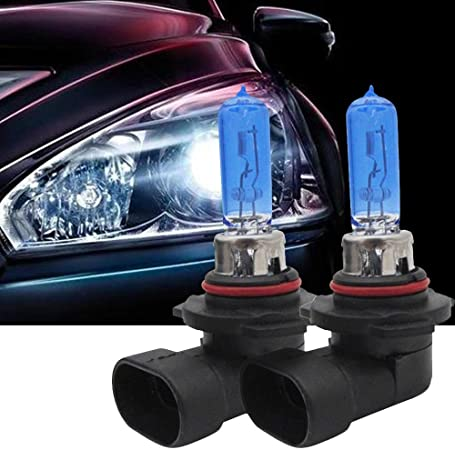 LED Kit X3 50W H7 10000K Blue Two Bulbs Head Light High Beam Replacement Upgrade