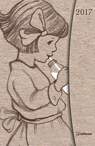 Belle & Boo 2017 - Taschenkalender, Magneto Diary small, Buchkalender - 10 x 15 cm