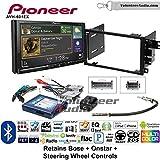 Volunteer Audio Pioneer AVH-601EX Double Din Radio Install Kit with CD/DVD Player Bluetooth USB/AUX Fits 2003-2005 Chevrolet Blazer, 2003-2006 Silverado, Suburban (Bose, Onstar, SWC)