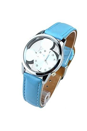 El paraíso secreto de las muchachas Mickey Mouse relojes baratos de las mujeres de regalo