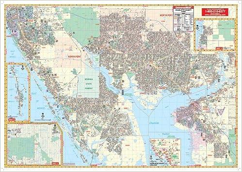 Map Of Port Charlotte Florida.Amazon Com Port Charlotte Fl City Wall Maps 9780762515776