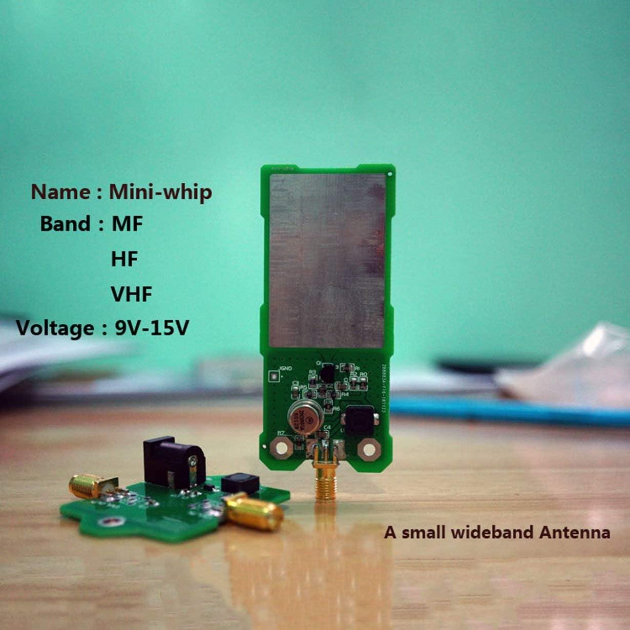 Antena SDR Mini-Whip Antena Activa de Onda Corta MiniWhip ...