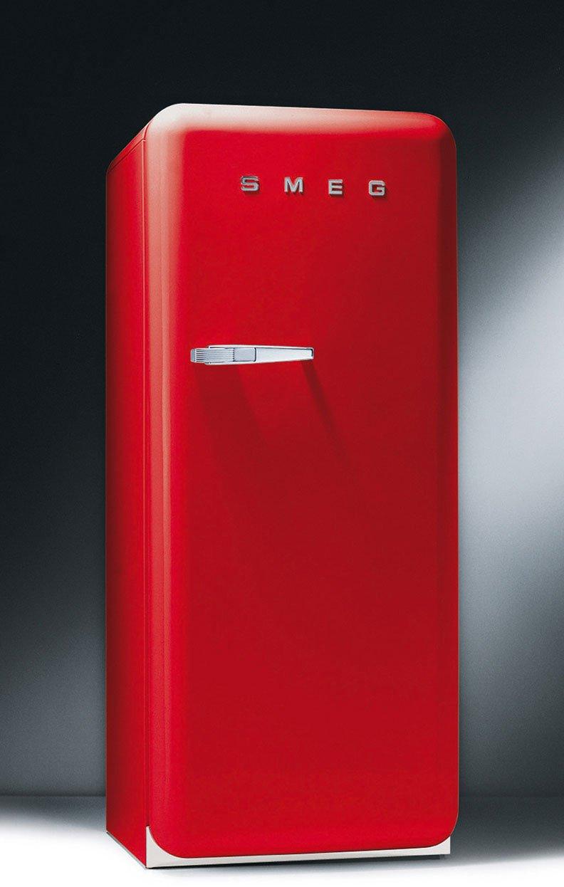 Amazon.com: Smeg FAB28URR 50\'s Retro Style Aesthetic Refrigerator ...