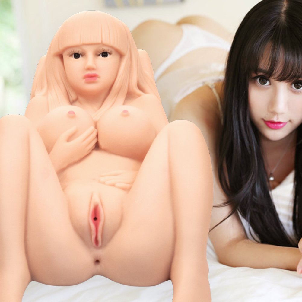 Life Size Beautiful Realistic Adult Toys with 3 Channels (29×15×11in)