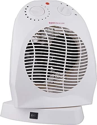 Vinteky, Estufa eléctrica portátil, eficaz mini estufa de cerámica para tomas de corriente, 400W