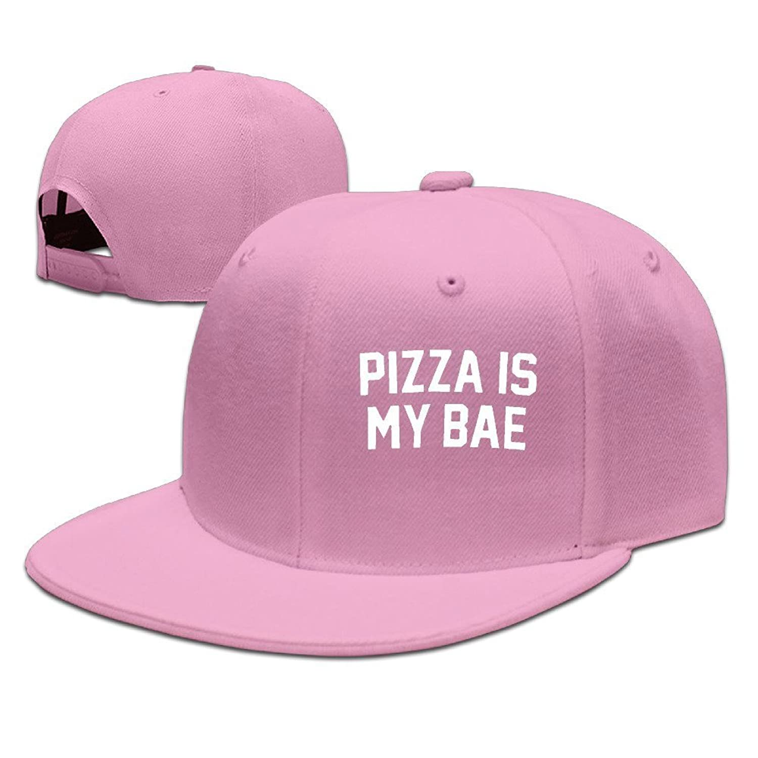 5f3468c584 Chic Have You Shop Pizza Is My Bae Style Visor Hats Cap Snapback Summer Hat  Pink