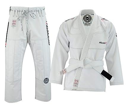 Malino Traje Jiu Jitsu Gi Brasileño Blanco, Uniforme de ...