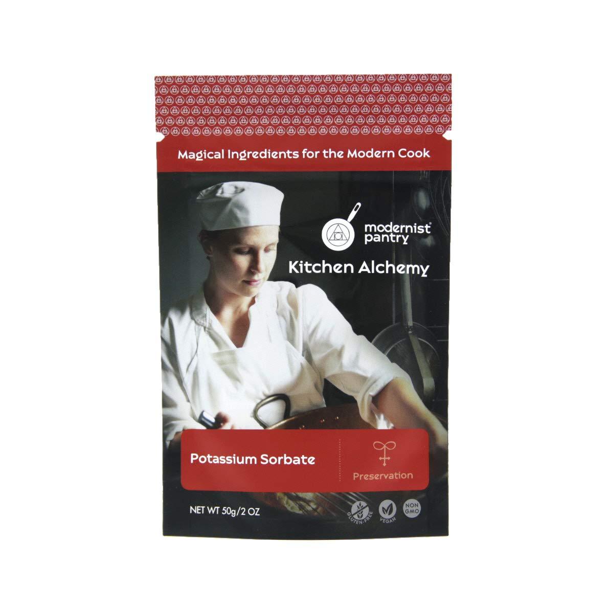Pure Potassium Sorbate ⊘ Non-GMO ❤ Gluten-Free ☮ Vegan - 50g/2oz