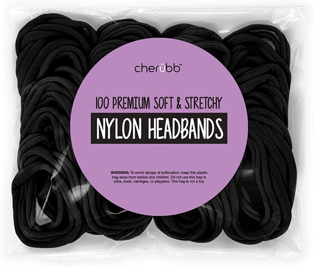 20 Pcs//lot Girl Hair Bow Headband Elastic Hair Bands Newborn Infant Toddler NIU