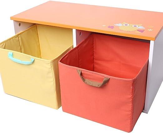 labebe Compartimientos de Almacenamiento de Madera para niños/Caja ...