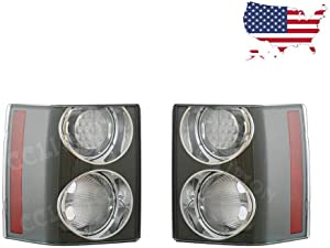 For Land Rover Range Rover HSE 2002-2009 Pair Clear Rear Tail Brake Light Lamp