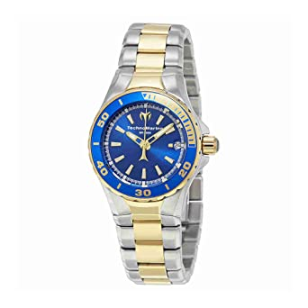 TechnoMarine Sea Manta Blue Dial Ladies Watch 215007
