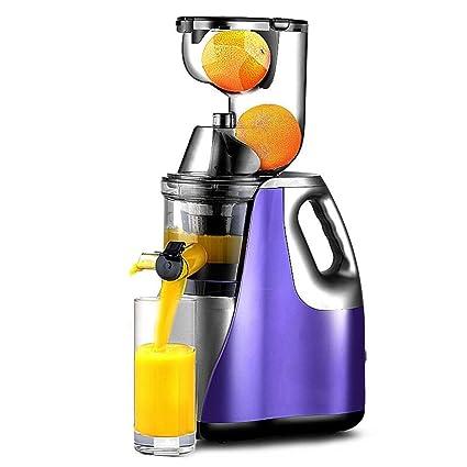 Exprimidor De ZAIYI Exprimidor De Gran Diámetro Automático Multifunción De Frutas Y Verduras Jugo De Fruta
