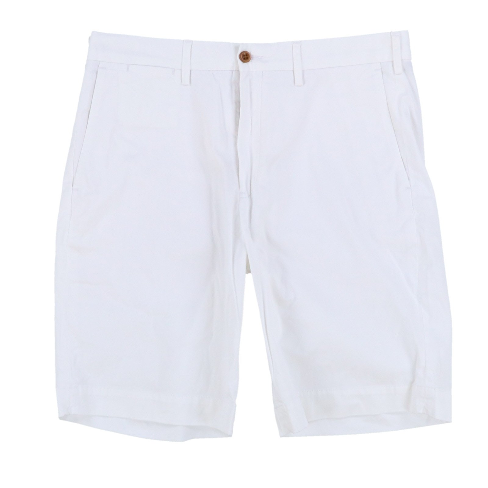 Polo Ralph Lauren Mens Stretch Classic Fit Chino Shorts (32, White)