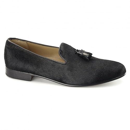 Blakesyes - Mocasines de Piel para hombre Negro negro: Amazon.es: Zapatos y complementos