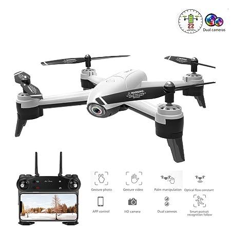 HUAXING Drones RC con cámara HD 1080P 5MP WiFi FPV Quadcopter ...