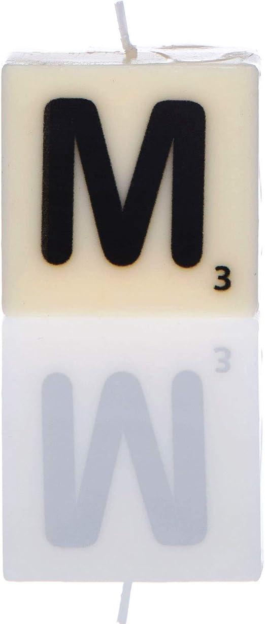 Color Blanco Vela n/úmero 0 Boxer Gifts Talla /única