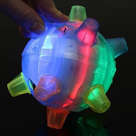 SOLMORE de bola mágico saltador Balón baile intermitente Lámpara ...