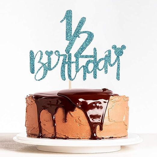 Amazon.com: Decoración para tarta de cumpleaños con ...