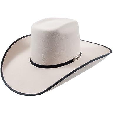 0fd0fb47531ee Cuernos Chuecos 6X Brick Crown with Ribbon Felt Hat at Amazon Men s  Clothing store