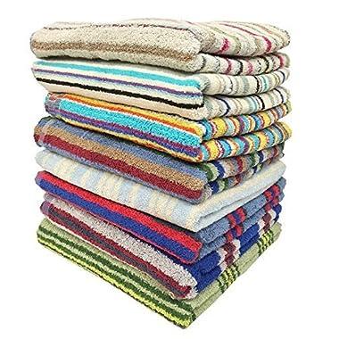 3-pack 28  X 57  100% Cotton Bath Towels