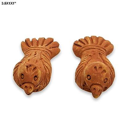 Buy Florishkart Hand Crafted Handmade Cly 2 Pair Kabootar