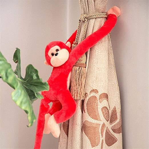 Baby Kids Soft Long Arm Monkey Stuffed Animal Doll Gift Plush Toys Cute Colorful