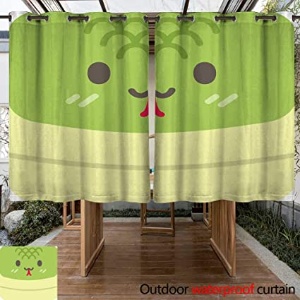 Amazon Com Renteriadecor Home Patio Outdoor Curtain Cute Round