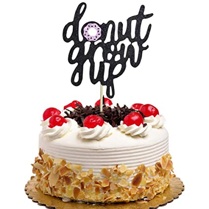 Amazon Donut Grow Up Cake Topper Theme For Baby Shower