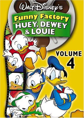 Walt Disney's Funny Factory With Huey, Dewey and Louie, Vol. - Factory Music Jacks