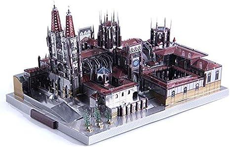 3D Metal Puzzle España Arquitectura de la Catedral de Burgos ...