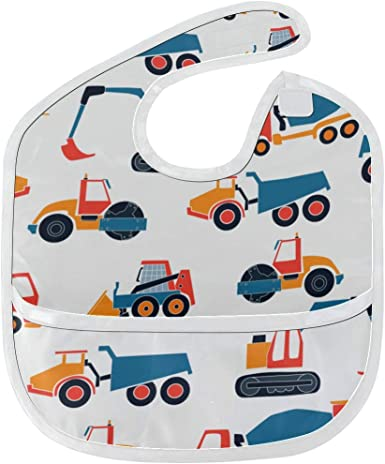 Baby Items Bibs Colorful Trucks Baby Bib Boy Handmade Drool Bibs For Baby Gifts for Babys