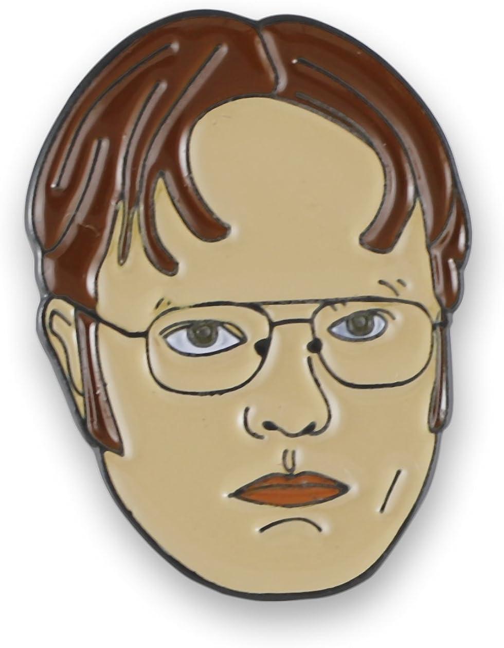 Forge Dwight Schrute Rainn Wilson Enamel Lapel Pin (1 Pin)