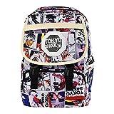 Sunohyesla® Anime Patterned Travel Backpack Lightweight School Bookbag Rucksack