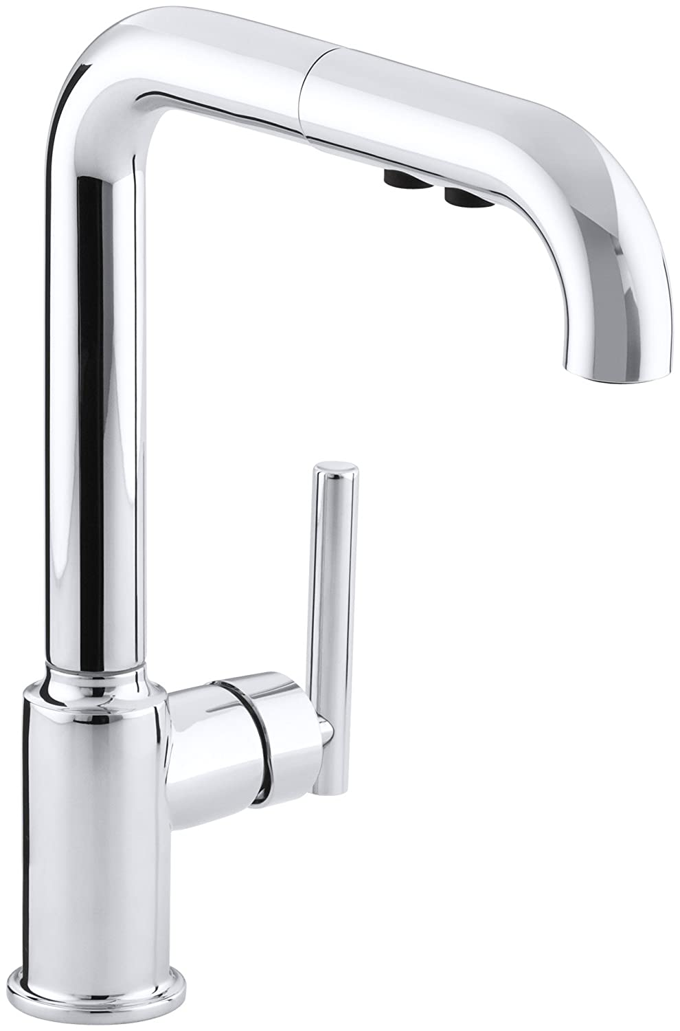 KOHLER K-7505-CP Purist Primary Pullout Kitchen Faucet, Polished ...