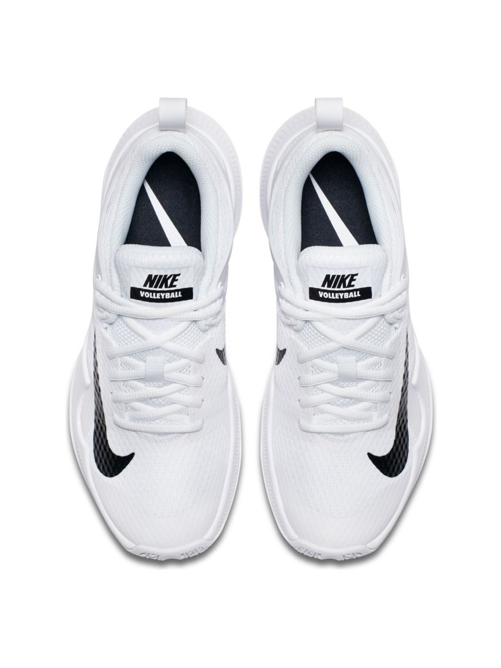 Nike Womens Wmns Air Zoom Hyperace, White / Black, 10.5 M US by NIKE (Image #4)