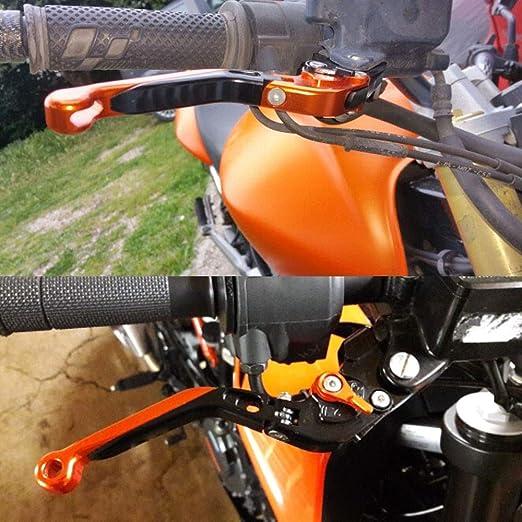 Color : BKSLBKSL CNC Motorcycle Freno Leve di Frizione Regolabile Motociclismo Accessori for la Kawasaki Z800 2013-2016 LIWENCUI