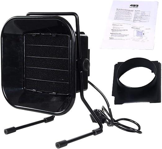 Solder Smoke Absorber Remover Fume Extractor Air Filter Fan Soldering Adjustable