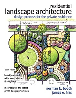 Residential Landscape Architecture Design Process For The Private Residence 6th Edition
