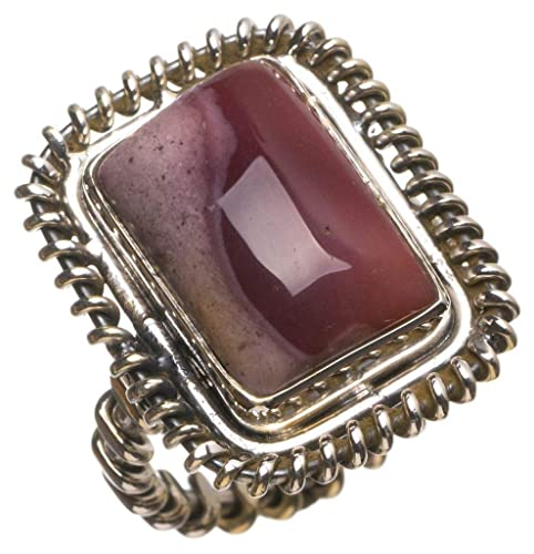 Mexico Solid 925 Sterling Silver Latest Jewelry Natural Royal Imperial Jasper Gemstone Ring Size 10