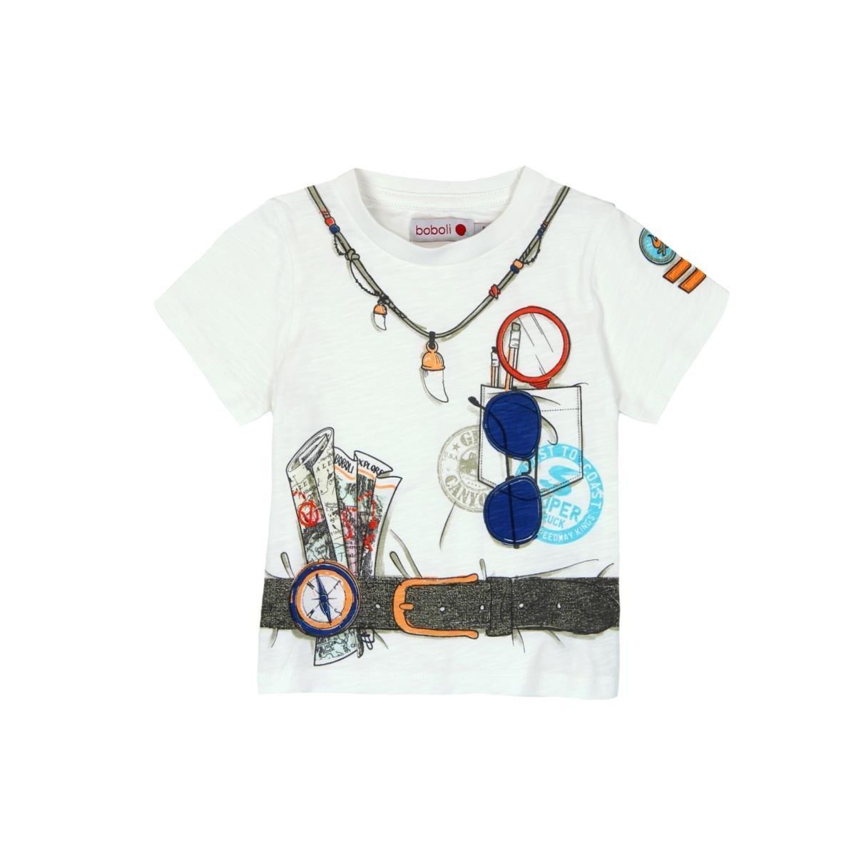 985caed3a boboli Boys' T-Shirt: Amazon.co.uk: Clothing