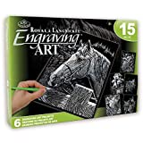 ROYAL BRUSH Pets Silver Engraving Art Set