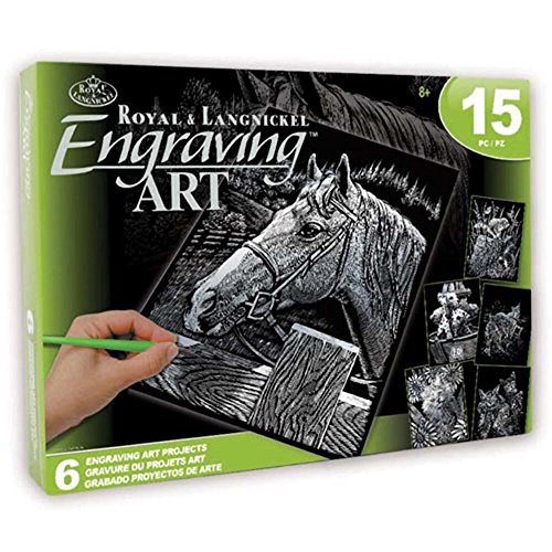 - ROYAL BRUSH Pets Silver Engraving Art Kit
