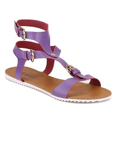 2b95419d0fcf Yepme Women s Purple Synthetic Sandals - YPWFOOT9384 8  Buy Online ...