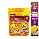 Pitambari Shining Powder with Devbhakti Kruttika 4 in 1 Agarbatti, 1kg (Pink, FG0681)