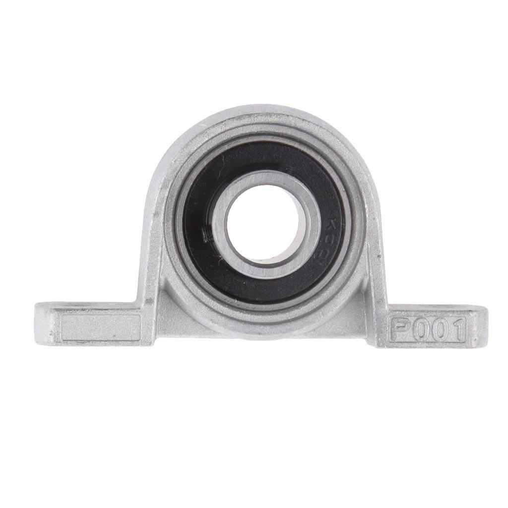 20mm KP04 2cm 1pc Al/ésage 8//10//12//15//20//25mm Roulement /à Billes Alignement Automatique kit de Roulement avec Support 8 15,5
