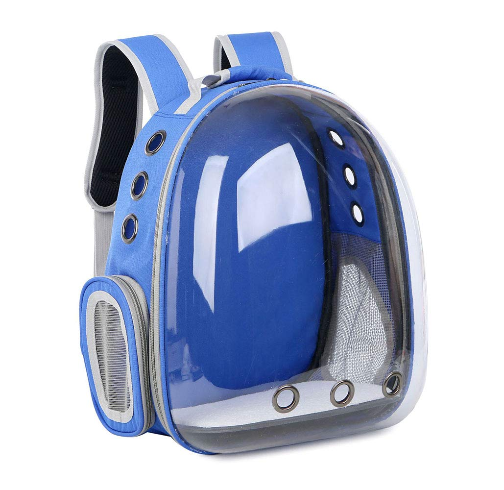 Pet Backpack Go Out Portable Small Dog Space Bag Cat Travel Bag Breathable School Bag 34 * 25 * 42cm