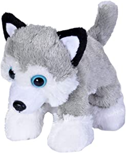 Wild Republic Husky Plush, Stuffed Animal, Plush Toy, Gifts For Kids, Hug'Ems 7